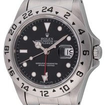 Rolex : Explorer II :  16570 :  Stainless Steel : black...