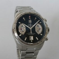 TAG Heuer Chronographe 43mm Remontage automatique 2016 occasion Grand Carrera Noir