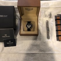 TAG Heuer Chronographe 42mm Remontage automatique 2017 nouveau Autavia Noir