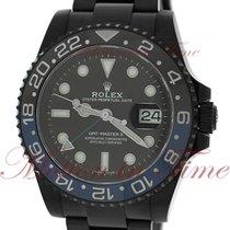 Rolex GMT-Master II 116710BLNR DLC pre-owned