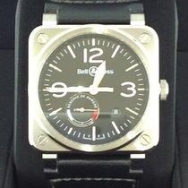 Bell & Ross BR 03-97 Réserve de Marche Stahl 42mm Schwarz Arabisch