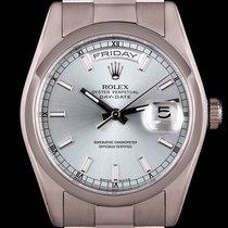 Rolex Day-Date 36 Platinum 36mm Blue No numerals United Kingdom, London