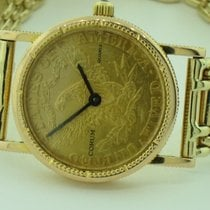 Corum Coin Watch Yellow gold 23mm Gold No numerals United States of America, New York, Greenvale