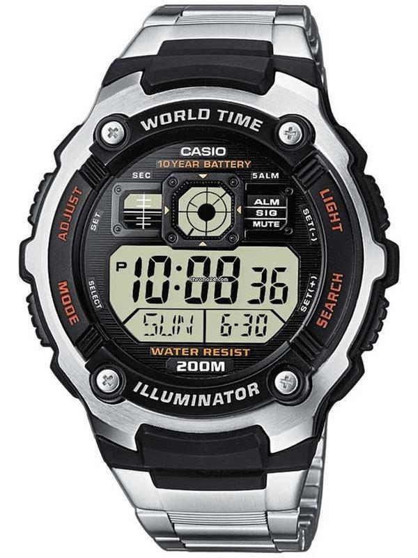 ef6b6091f6a0 Casio AE-2000WD-1AVEF Collection 48mm 20ATM en venta por 49 € por parte de  un Trusted Seller de Chrono24