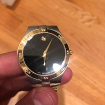 Movado Gold/Steel 40mm Quartz 81 G2 1899S pre-owned