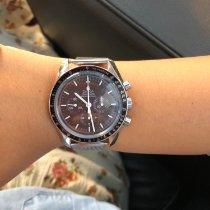 Omega Speedmaster Professional Moonwatch Acero 42mm Marrón Sin cifras