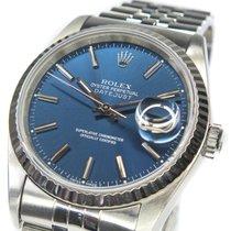 Rolex Datejust Staal 36mm Blauw Geen cijfers Nederland, Almere