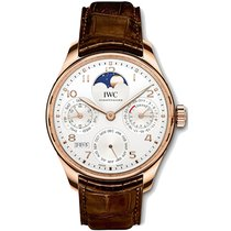 IWC Portuguese Perpetual Calendar 44mm Silver United States of America, New York, New York