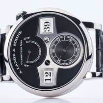 A. Lange & Söhne Zeitwerk White gold 41.9mm Black Arabic numerals United States of America, Florida, Aventura