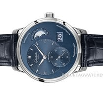 Glashütte Original PanoMaticLunar Steel 40mm Blue No numerals United States of America, Florida, Aventura