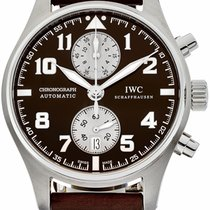 IWC IW387806 Steel Pilot Spitfire Chronograph 43mm pre-owned