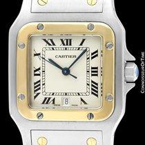 Cartier Santos Galbée Gold/Steel 32mm Roman numerals United States of America, Georgia, Suwanee