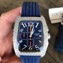 Locman Sport Tonneau Aluminum 36mm Blue