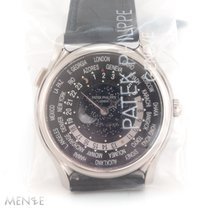 Patek Philippe World Time White gold 39,8mm Black