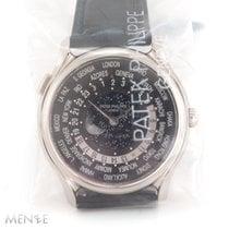 Patek Philippe World Time neu 2015 Automatik Uhr mit Original-Box und Original-Papieren 5575G-001