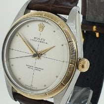 Rolex Oyster Perpetual 34 Gold/Steel 34mm Gold No numerals