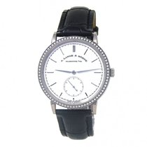 A. Lange & Söhne Saxonia White gold 39mm Silver United States of America, New York, New York