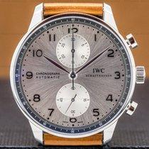 IWC Portuguese Chronograph Steel 40mm Silver