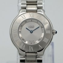 Cartier 21 Must de Cartier Steel 31mm Silver Roman numerals United States of America, California, Marina Del Rey