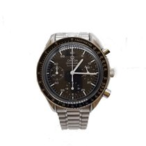 Omega Speedmaster Reduced Сталь 39mm Чёрный Без цифр
