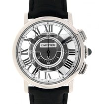 Cartier Rotonde W1556051 Central Chronograph White Gold 42mm