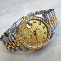 Rolex Midsize Datejust Diamond Champagne Dial