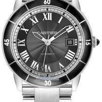 Cartier Ronde Croisière de Cartier Steel 42mm Grey United States of America, New York, Airmont