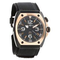 Bell & Ross Marine BR 02 Rose Gold Watch Mens BR02-PINKGOL...