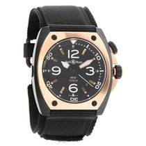 Bell & Ross Marine BR 02 Rose Gold Watch Mens BR02-PINKGOLD-CA