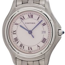 Cartier Cougar Steel 32mm Roman numerals United States of America, California, West Hollywood
