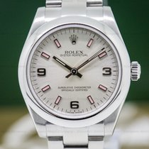 Rolex 177200 Oyster Perpetual Ladies Silver Dial (27481)