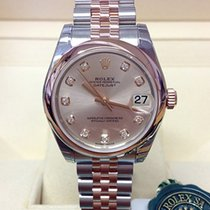 Rolex Lady-Datejust Gold/Steel 31mm Pink No numerals