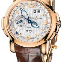 Ulysse Nardin 326-60/60 Rose gold GMT +/- Perpetual 42mm new