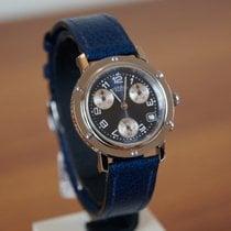 Hermès Stal Kwarcowy Niebieski Arabskie nowość Clipper