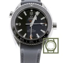 Omega Seamaster Planet Ocean 600M Co-Axial 43.5 mm GMT Steel...