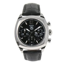 TAG Heuer Monza pre-owned 37.5mm Steel