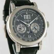 A. Lange & Söhne Chronograph 41mm Handaufzug 2011 gebraucht Datograph Silber