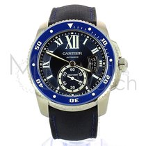 Cartier Calibre de Cartier Diver Acero 42mm Azul
