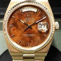 Rolex Day-Date Oysterquartz Yellow gold 36mm Brown No numerals United Kingdom, London