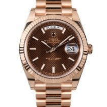 Rolex 228235 Rose gold Day-Date 40 40mm pre-owned United States of America, New York, NEW YORK