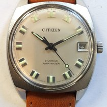 Citizen pre-owned Manual winding 35mm Silver