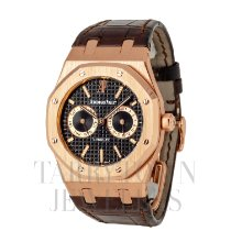 Audemars Piguet Royal Oak Day-Date Rose gold 39mm Black United States of America, New York, Hartsdale