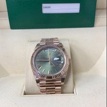 Rolex Day-Date 40 Rose gold 40mm Brown United States of America, Florida, MIAMI