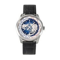 Jaeger-LeCoultre Geophysic Universal Time pre-owned 41.6mm Blue GMT
