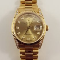Rolex Day-Date 36 Yellow gold 36mm Champagne Australia, Sherwood