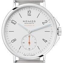NOMOS Ahoi Neomatik Steel Silver Arabic numerals