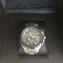 Citizen pre-owned Automatic Grey Sapphire crystal 10 ATM