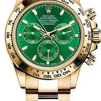 Rolex Daytona Желтое золото 40mm Зеленый Россия, Москва