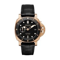 Panerai Rose gold Automatic new Luminor Submersible