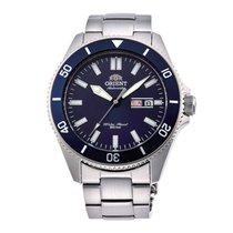 Orient Mako Steel 43mm Blue No numerals